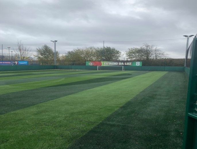 lift and relay on artificial pitches for GOALS