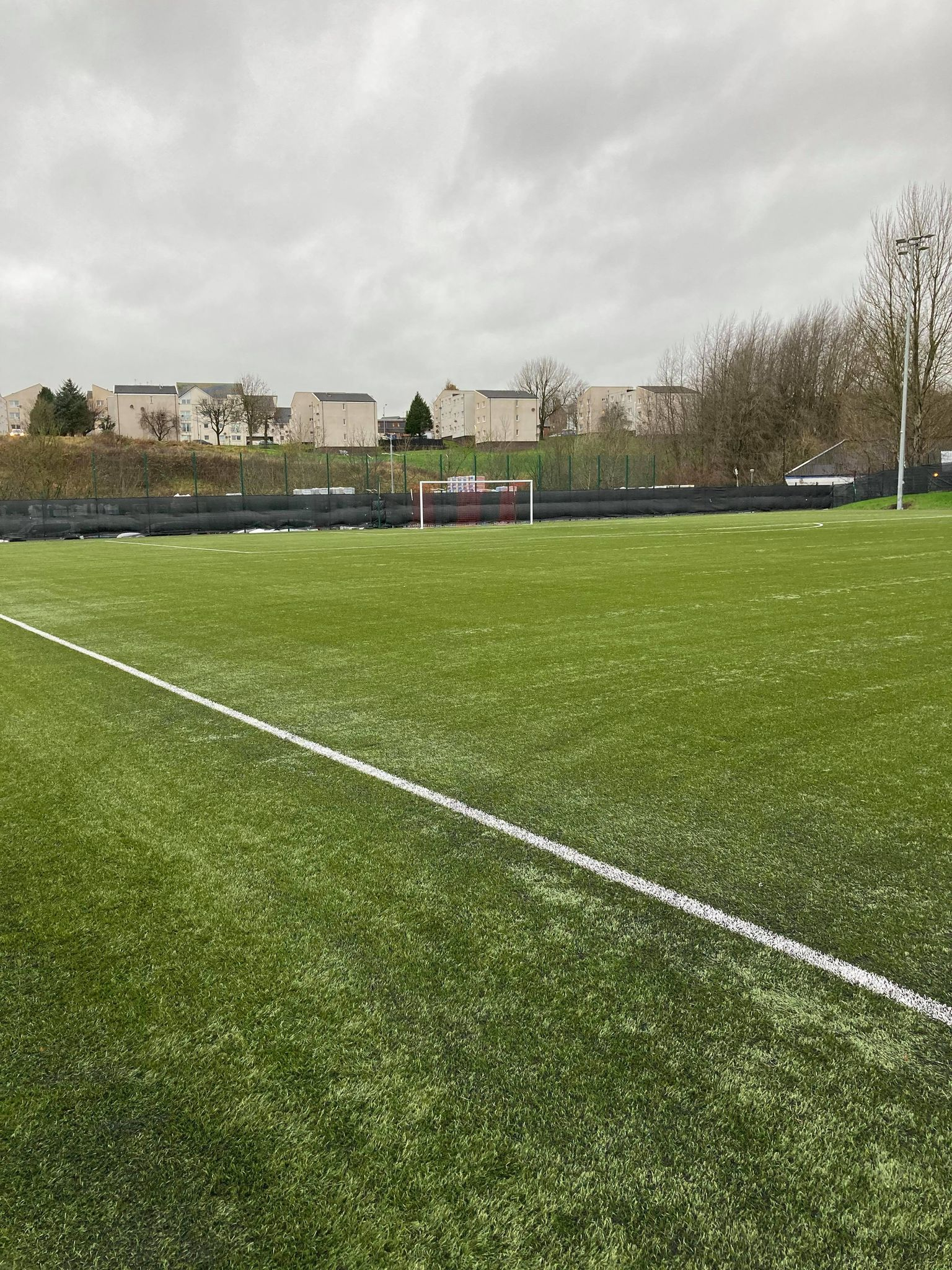 Rubber top up for Bonnyton Thistle, Kilmarnock